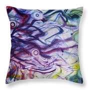 Exhalation Throw Pillow