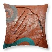 Exhale - Tile Throw Pillow
