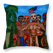 Exiled In Homeland Throw Pillow