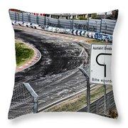 Exit Breidscheid Throw Pillow