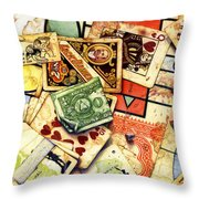 Exit Strategy Throw Pillow