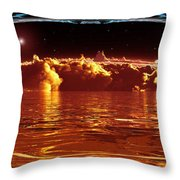 Exogatus  Throw Pillow