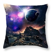 Exoplanets  Throw Pillow