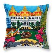 Exotic Bangkok Throw Pillow by Lisa  Lorenz