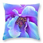 Exotic Dancer Throw Pillow by Gwyn Newcombe