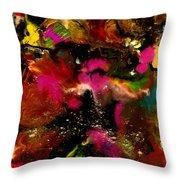 Exotic Garden Throw Pillow