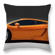 Exotic Lamborghini  Throw Pillow