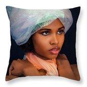 Exotic  Throw Pillow