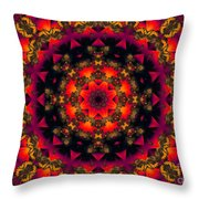 Exotic Nights Throw Pillow