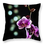 Exotic Orchid 2 Throw Pillow