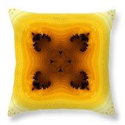 Exotic Tile 1 Throw Pillow