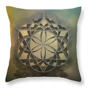 Expanding Elements Throw Pillow