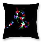 Expanding Light Throw Pillow