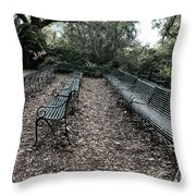 Expecting For Perfomance Throw Pillow