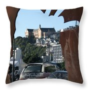 Experiencing Welly Through Art Throw Pillow