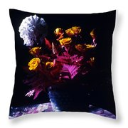 Experiment In Light Throw Pillow