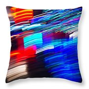 Exploded Lights Throw Pillow