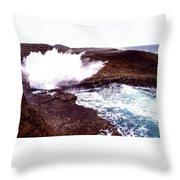 Exploding Nature Throw Pillow
