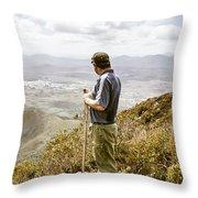 Explore Tasmania Throw Pillow
