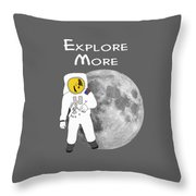 Explore The Universe Throw Pillow