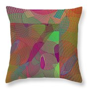 Explore Transdimensions Angle 44 Throw Pillow