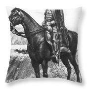 Explorer Juan Bautista De Anza Throw Pillow