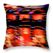 Explosion Throw Pillow by Chris Dutton