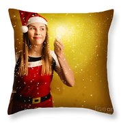 Explosive Christmas Gift Idea Throw Pillow