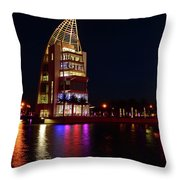 Expo Tower Throw Pillow