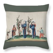 Export Gouaches On Pith Paper Throw Pillow