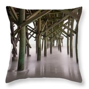 Exposed Structure Throw Pillow