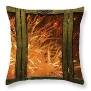 Exposion Of Light Throw Pillow