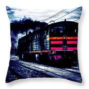 Express Night Throw Pillow