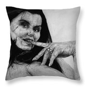 Entice Throw Pillow