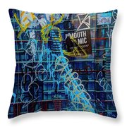 Expressed So Throw Pillow