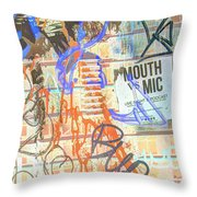 Expressed So Inverted Throw Pillow
