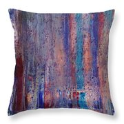 Expression # 9 The Blues Down And Out Throw Pillow
