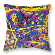 Expression 6 Throw Pillow