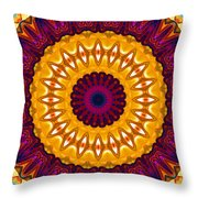 Expression No. 7 Mandala Throw Pillow