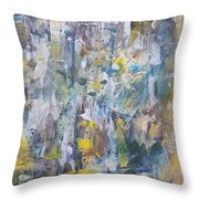Expressionalism Throw Pillow