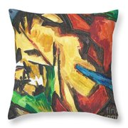 Expressionism Throw Pillow