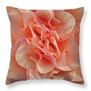 Expressionist Rose Throw Pillow