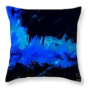 Expressionist View V Throw Pillow