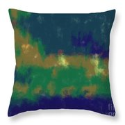 Expressionist View Vii Throw Pillow