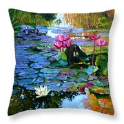 Expressions From The Garden Throw Pillow