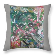 Expressions Of Life Throw Pillow