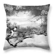 Expressions Of Spring Throw Pillow