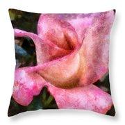 Exquisite Pink Throw Pillow