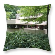 Exterior Fallingwater IIi Throw Pillow