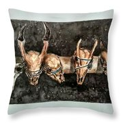 Extinction Throw Pillow